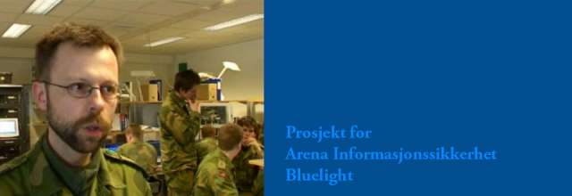video Bluelight infosikkerhet - In2it media as webdesign