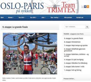 OsloParis - Webdesign In2it media as