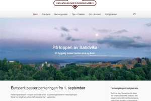 Hamangskogen.no - Webdesign In2it media as