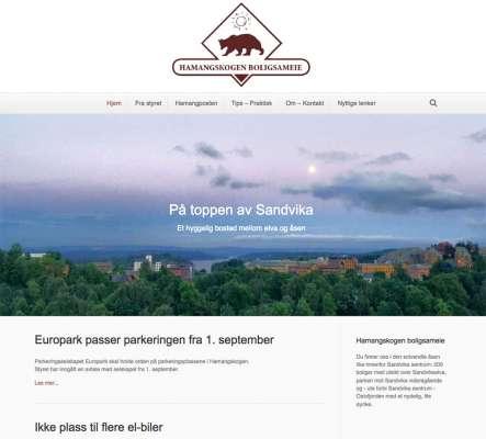 Hamangskogen.no - Webdesign In2it media as